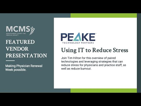 Using IT to Reduce Stress with PEAKE Technology Partners