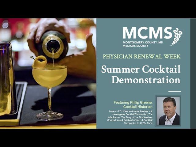 Classic Summertime Cocktails with Cocktail Historian Phil Greene