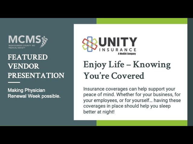 Enjoy Life – Knowing You're Covered with Unity Insurance